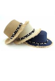 DA FASHION chapeaux femme perlé