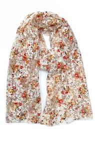 DA FASHION flower lace scarf