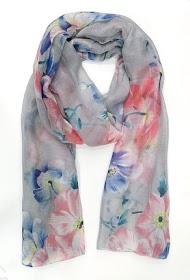 DA FASHION flower scarf