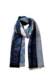 DA FASHION large flower pattern scarf