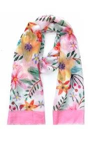 DA FASHION tropical pattern scarf