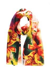 DA FASHION viscose silk scarf