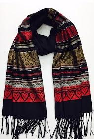 DA FASHION glitter scarf