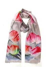 DA FASHION polyester silk scarves