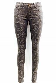 DA FASHION shiny stretch pants