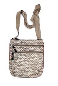 DA FASHION heart motif satchel