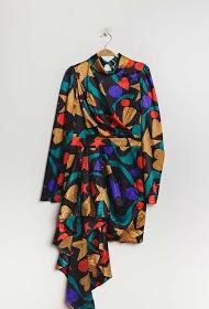 DANITY mønstret kjole