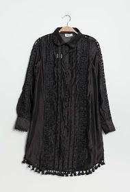 DANITY jurk met knopen