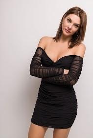 DANITY draperet kjole