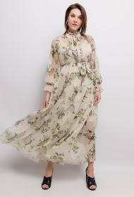 DANITY blomstret kjole