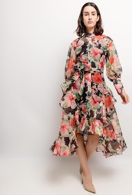 DANITY bloemrijke jurk