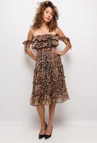 DANITY vestido de leopardo