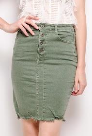 DAYSIE knapet nederdel