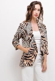 DAYSIE blazer with animal print