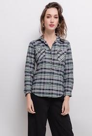 DAYSIE cotton check shirt