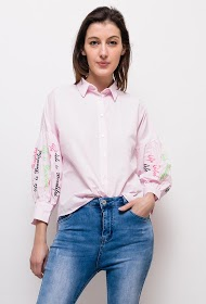 DAYSIE shirt with embroidery