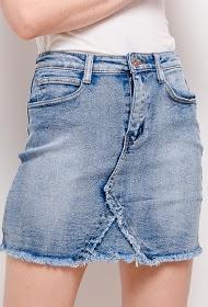 DAYSIE denim nederdel
