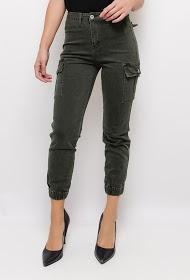 DAYSIE skinny cargo pants