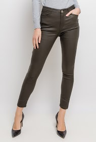 DAYSIE pantaloni in ecopelle