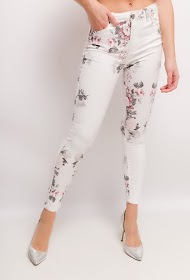 DAYSIE floral pants