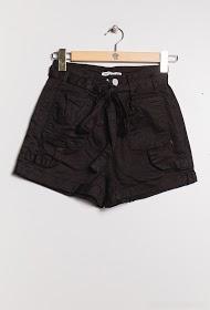 DAYSIE shorts mit gürtel