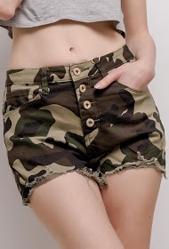 DAYSIE military shorts