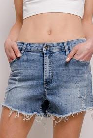 DAYSIE shorts jeans rasgados