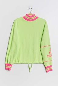 DAYSIE sweatshirt mit hohem kragen