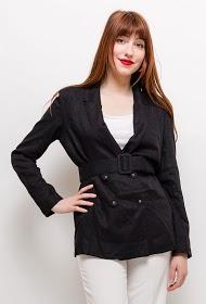 EIGHT PARIS belted blazer