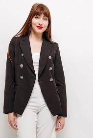 EIGHT PARIS crossed blazer