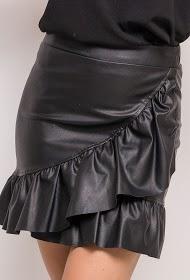 EIGHT PARIS ruffle skirt