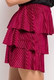 EIGHT PARIS velvet skirt