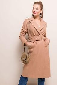 EIGHT PARIS belted coat