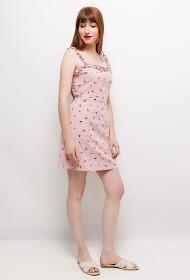 EIGHT PARIS cherry print dress