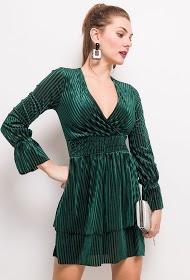 EIGHT PARIS velvet dress