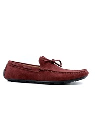 ELONG leather moccasins
