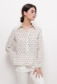 EMMA & ELLA silky shirt
