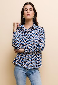 EMMA & ELLA patterned shirt