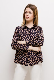 EMMA & ELLA camisa impressa