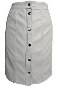 ESCANDELLE short skirt in simili leather