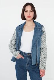 ESCANDELLE bi-material jacket