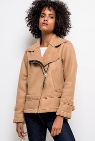 ESTEE BROWN aviator coat