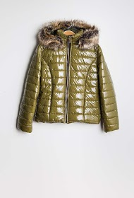 ESTEE BROWN down jacket with hood