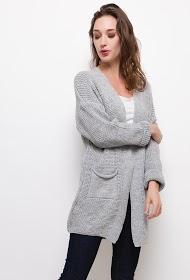 ESTEE BROWN ribbed knit vest