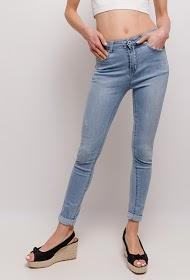 ESTEE BROWN basic jeans