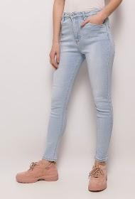 ESTEE BROWN jeans skinny leggeri