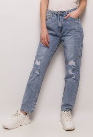 ESTEE BROWN jean mama