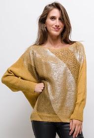 ESTEE BROWN leopard-sweater