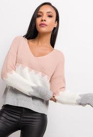 ESTEE BROWN striped sweater