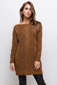 ESTEE BROWN twisted sweater